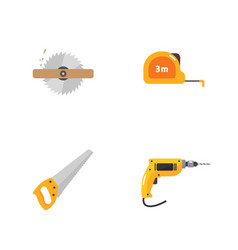 under construction icons vector image