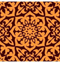 Bold geometric muslim seamless pattern vector image