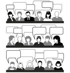 people and ideas vector image