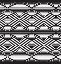 black and white design background vector image