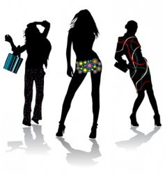 fashion design vector image vector image