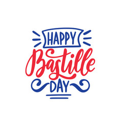 Happy bastille day concept color background of vector