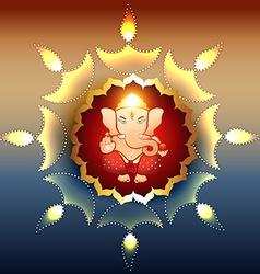 lord ganesh vector image