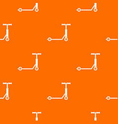 Scooter pattern seamless vector