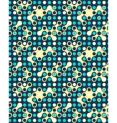 Seamless futuristic abstract pattern vector