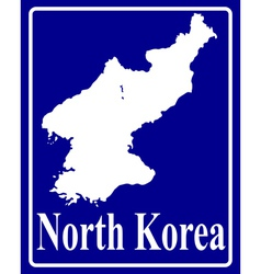 North Korea vector image