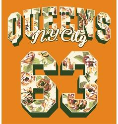 Queens New York City vector image vector image
