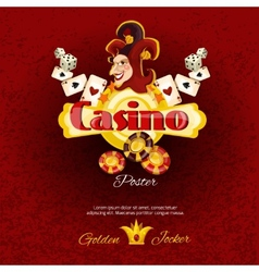 Casino Poster Illlustration vector