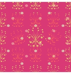 Christmas and New Years rose background with vector image