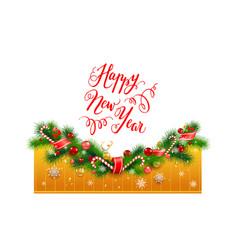 gold holiday card vector image