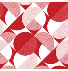 red and black rhombus diagonal seamless pattern vector image