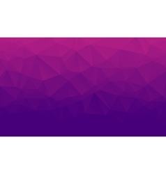 Shades of purple abstract polygonal geometric vector image
