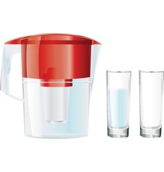 Water jug vector