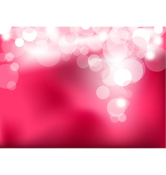 abstract glowing light vector image