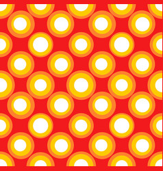Abstract repeating circles spotty seamless pattern vector