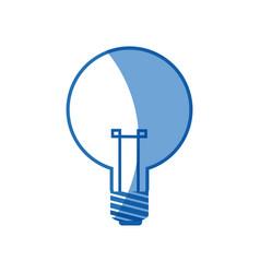 Bulb light electricity idea creative image vector