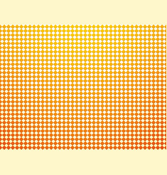 checkered tile yellow background with vignette vector image