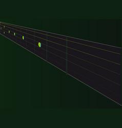 Fingerboard vector