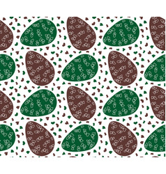 Pattern eggs14 vector