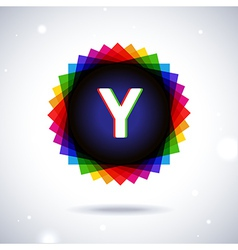 Spectrum logo icon Letter Y vector