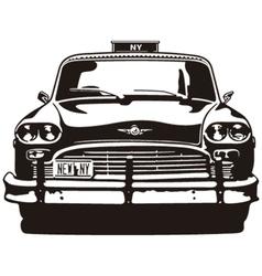Taxi Checker New York vector