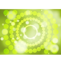 Abstract green soft focus background vector image vector image