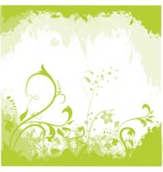 floral design elements vector image