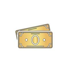 Cash computer symbol vector image vector image