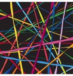 Abstract color lines net composition vector