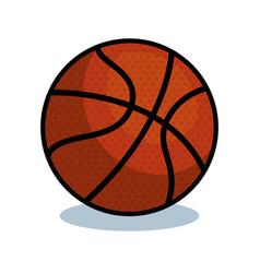 Basketball sport ball isolated icon vector