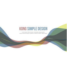 Colorful elegant style banner header website vector