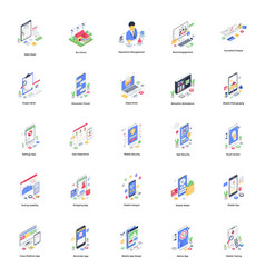 Cool design isometric vector