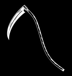 Hand-drawn scygrim reaper vector