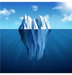 Iceberg Landscape vector