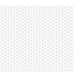 isometric line seamless grid triangular vector image
