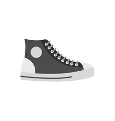 Men shoe icon flat vector