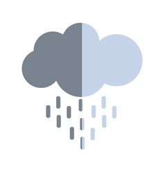 Nice cloud raining image vector