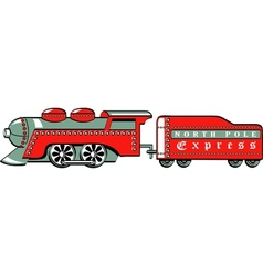North pole express vector