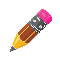 pencil icon volume icons flat style vector image