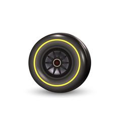 race car tyre vector image