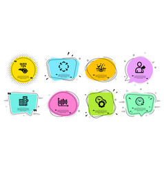 Refer friend tutorials and loan house icons set vector