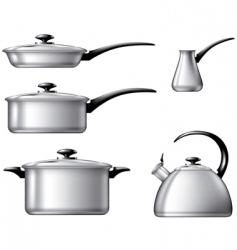 kitchenware vector image vector image