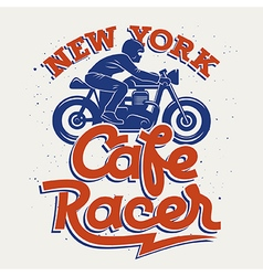 Cafe Racer 005 vector image vector image
