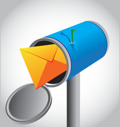 mail box vector image vector image