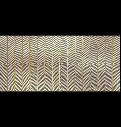 Abstract seamless hand drawn golden lines art vector