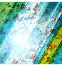 Abstract technology futuristic shiny lines backgro vector image