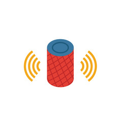 Digital assistant icon simple element from smart vector
