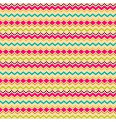 Ethnic tribal zig zag seamless pattern vector