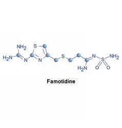 Famotidine histamine H2 receptor antagonist vector