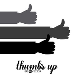 Human Hand design vector image